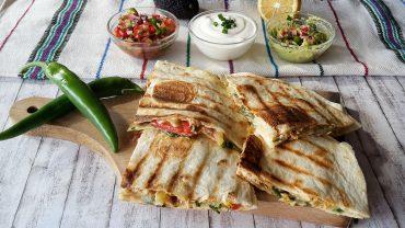 Călătorie culinară. Quesadilla