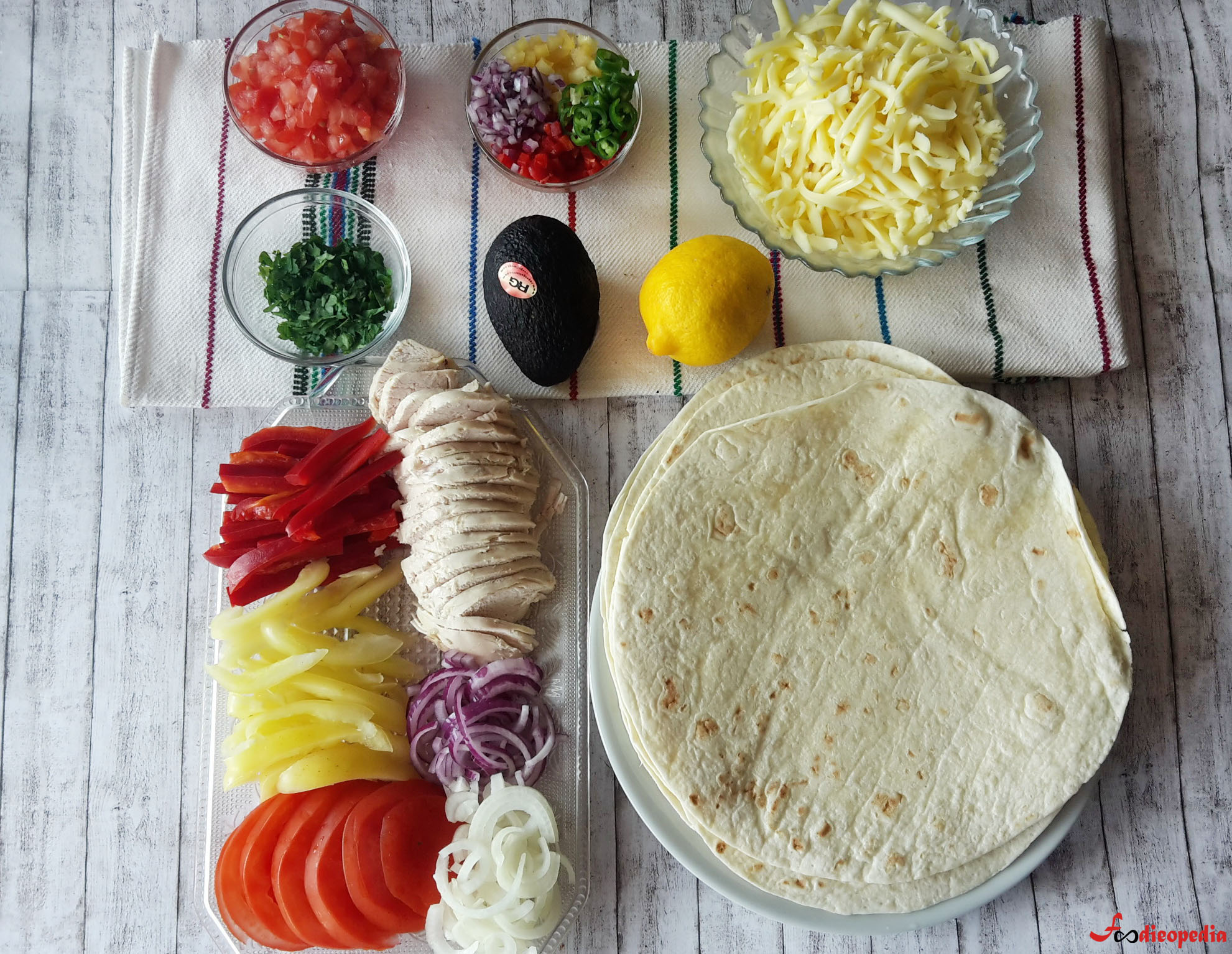 călătorie culinară quesadilla