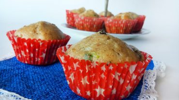 Salted muffins appetizers