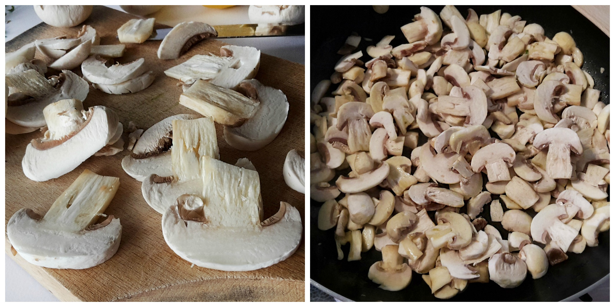 ciuperci cu usturoi si patrunjel