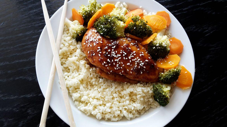 Teriyaki chicken. Taste of Japan