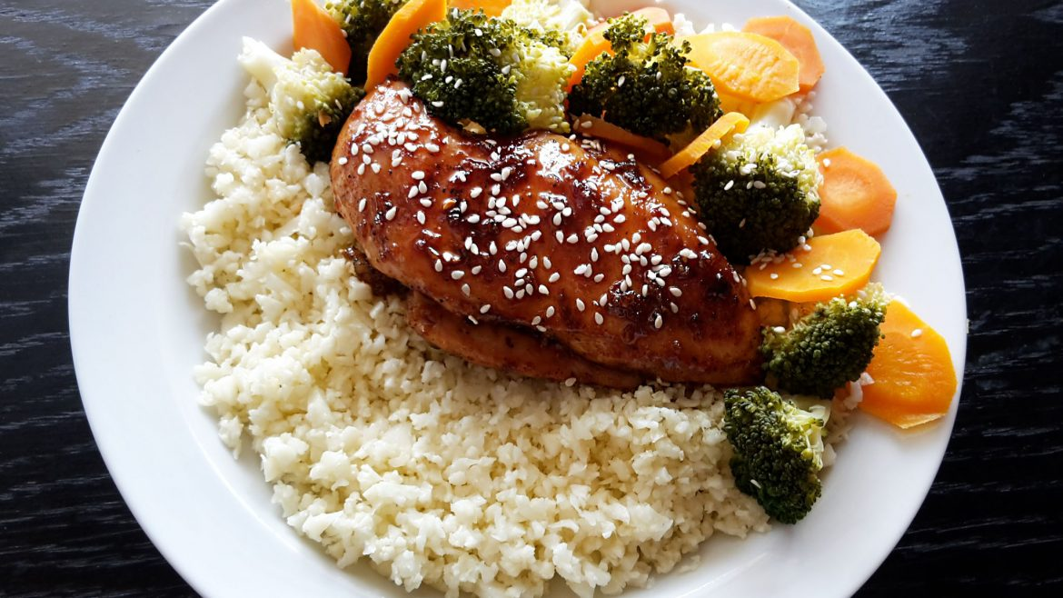 Teriyaki chicken. Taste of Japan