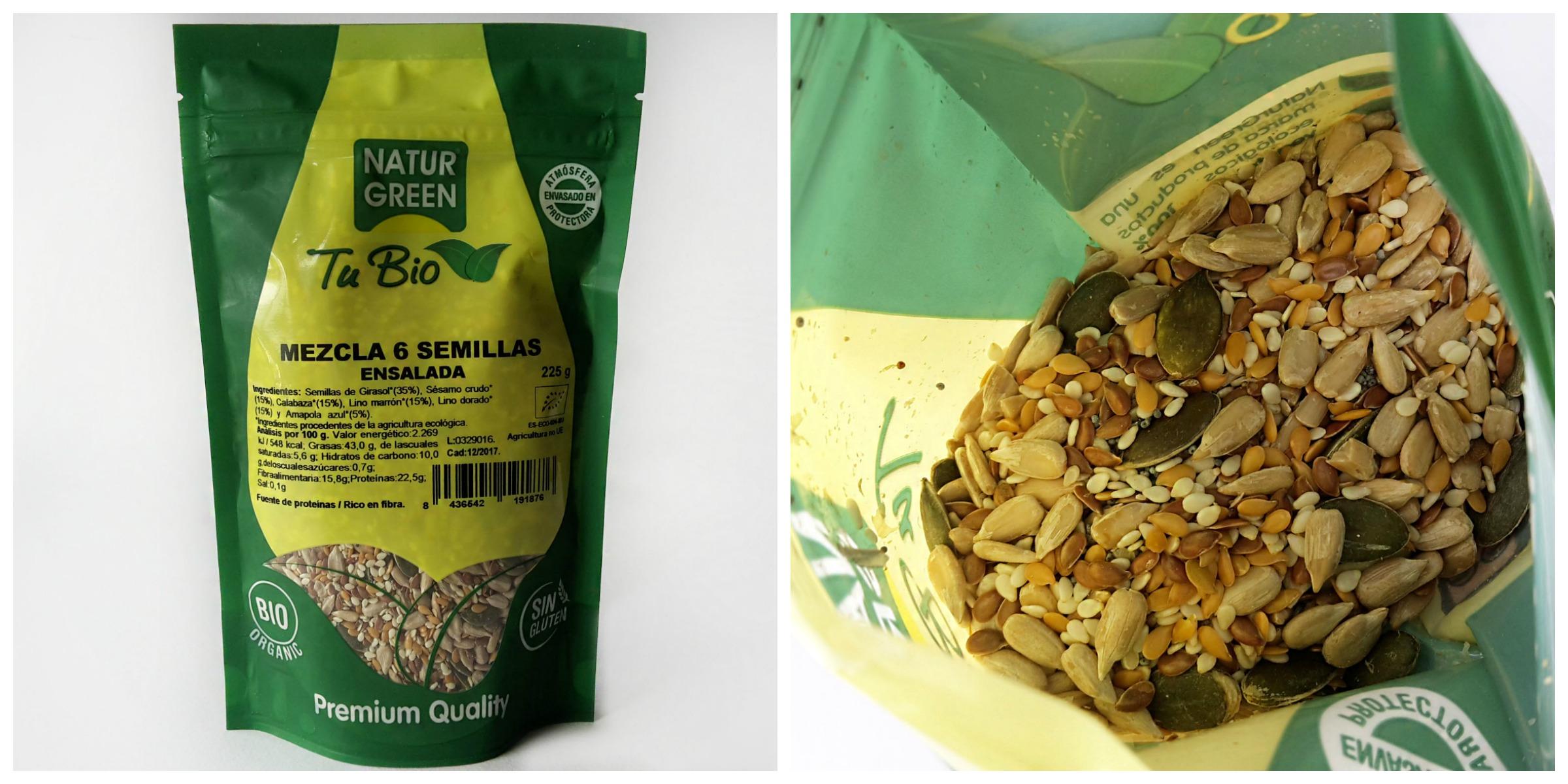 amestec seminte pentru salate farmacia ortomoleculara