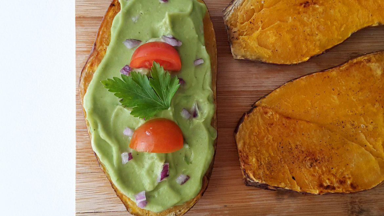 toast din cartof dulce cu guacamole 00