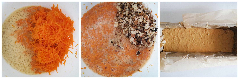 chec cu morcovi, nuca si portocale