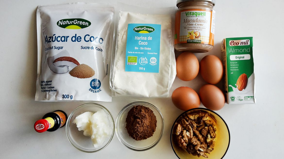 Brownies with coconut flour