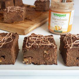 brownies cu faina de cocos