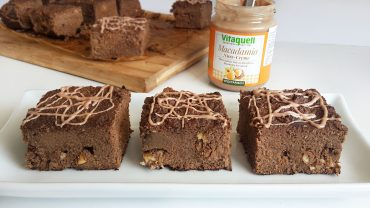 Brownies/negrese cu faina de cocos