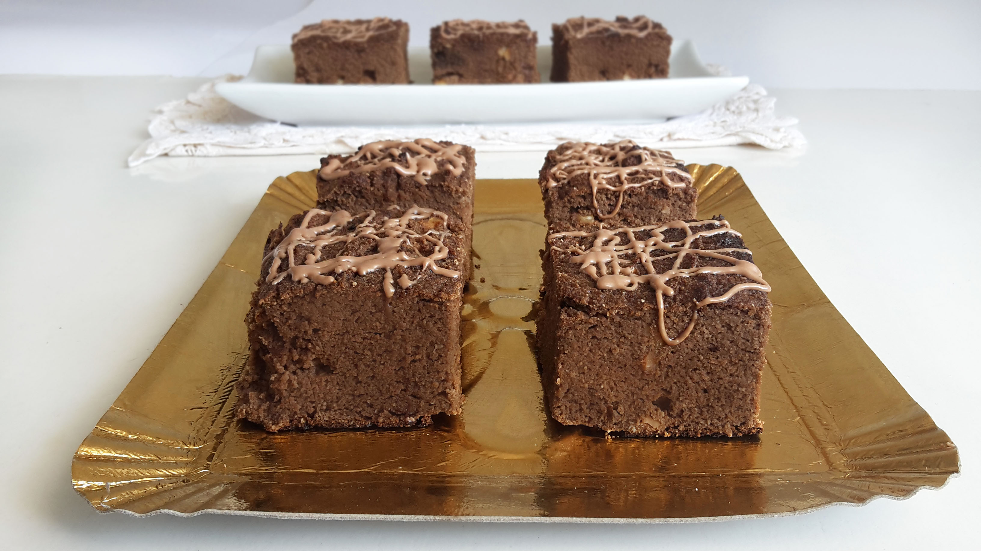 brownies cu faina de cocos