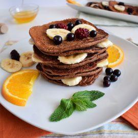 clatite proteice cu fulgi de ovaz protein pancakes
