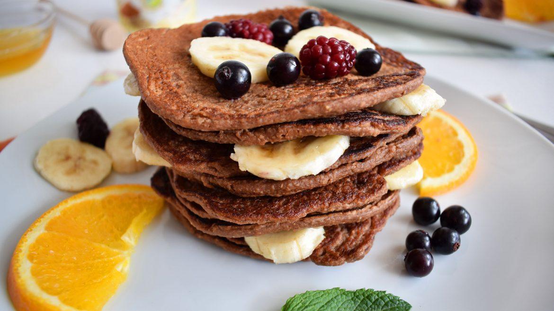 clatite proteice cu fulgi de ovaz protein pancakes 6
