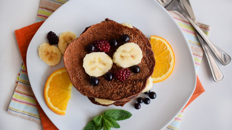 clatite proteice cu fulgi de ovaz protein pancakes 7