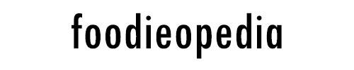 logo foodieopedia blog