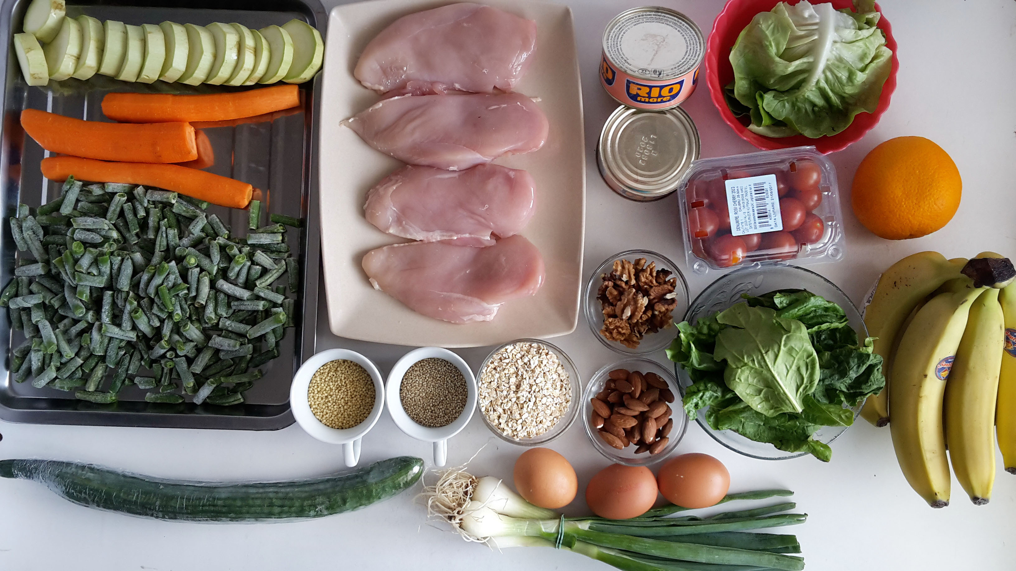 meal prep ingrediente