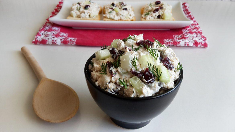 salata cu pui merisoare si apio 4