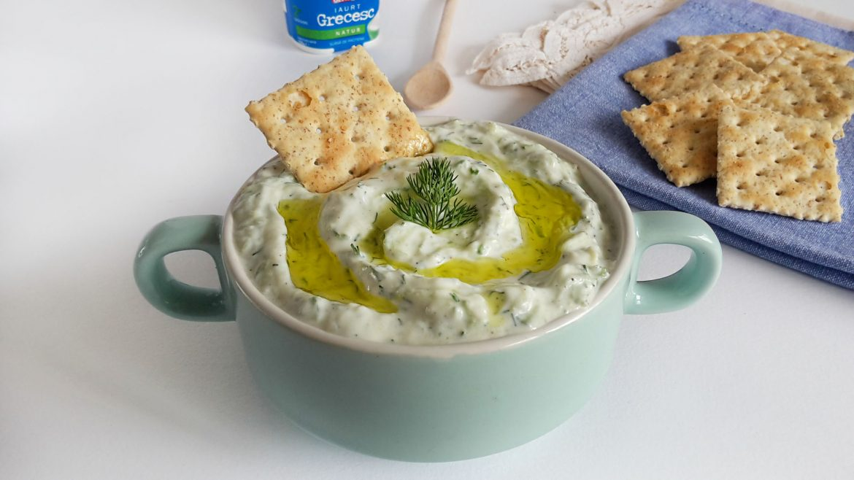 Tzatziki Sauce. Taste of Greece