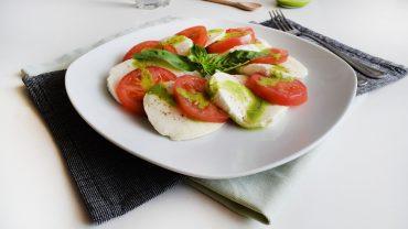 Salata Caprese – cea mai simpla salata