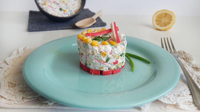 salata cu surimi si iaurt grecesc6