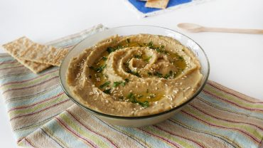 Roasted Eggplant Hummus