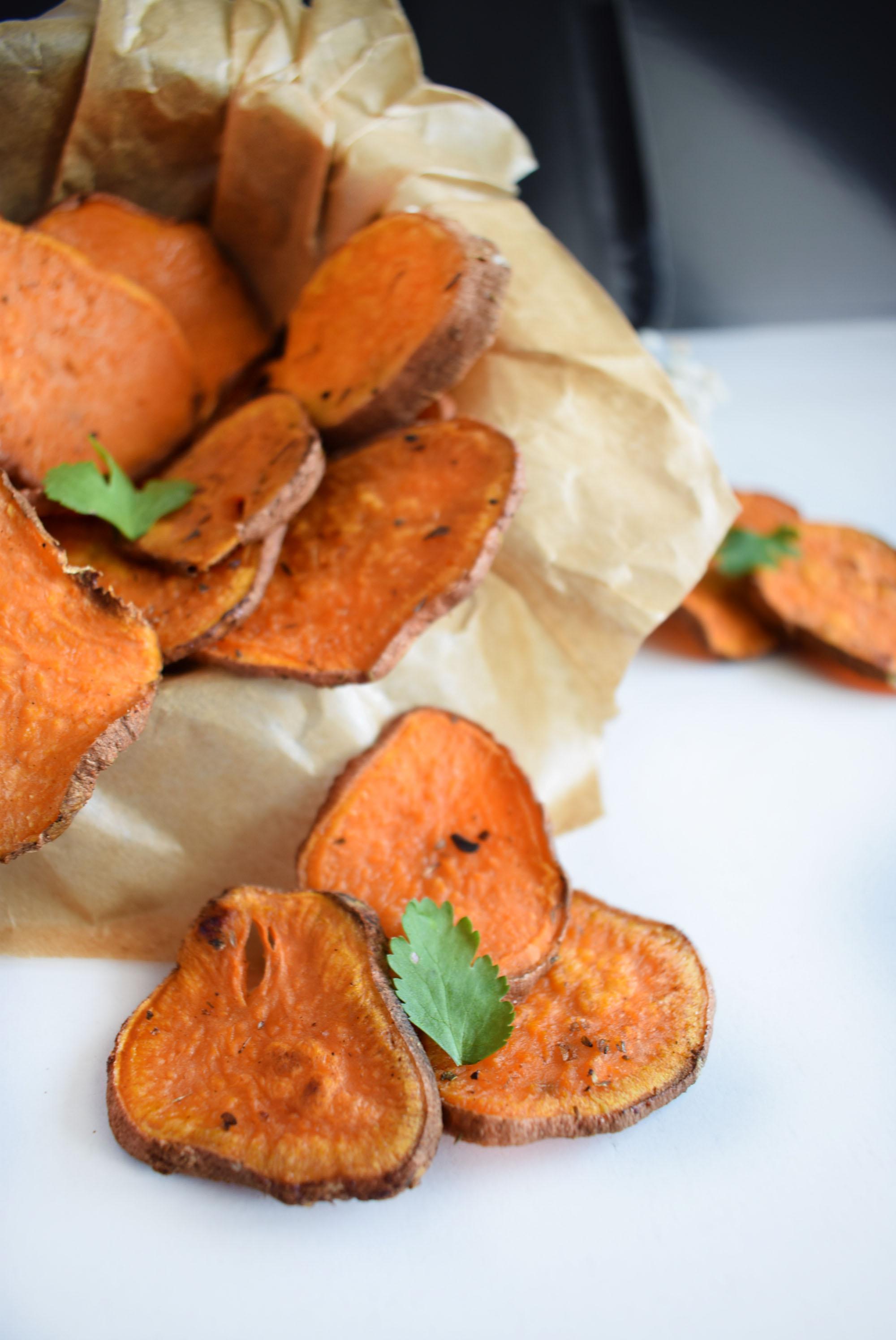 chipsuri din cartofi dulci la cuptor 3 baked sweet potato chips