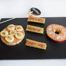 gustari cu unt de arahide 1 peanut butter snacks - foodieopedia