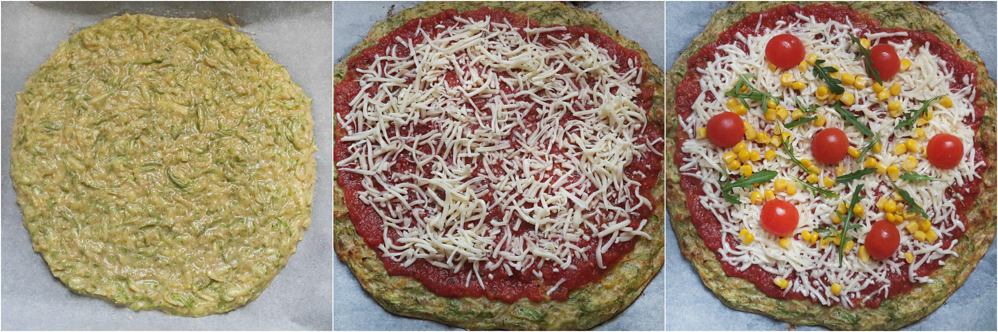 pizza cu crusta de dovlecei 01 - foodieopedia