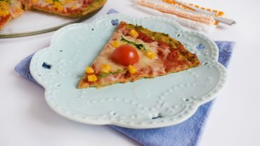 Pizza cu crusta din dovlecei
