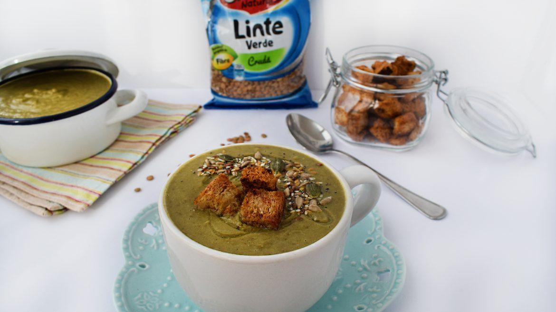 supa crema de linte si broccoli