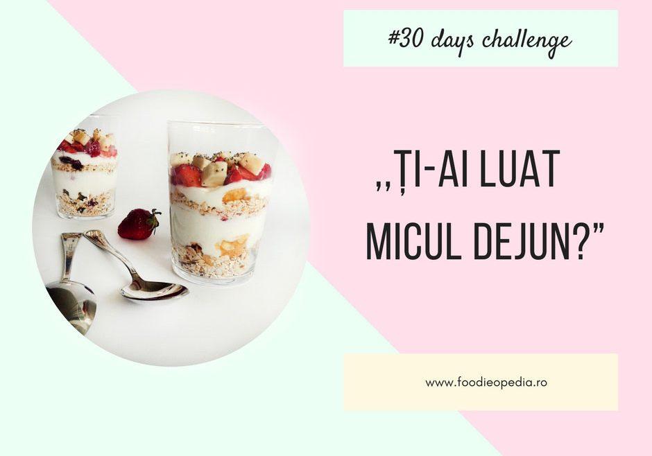 breakfast 30 days challenge