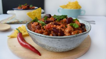 Chili con carne de pui