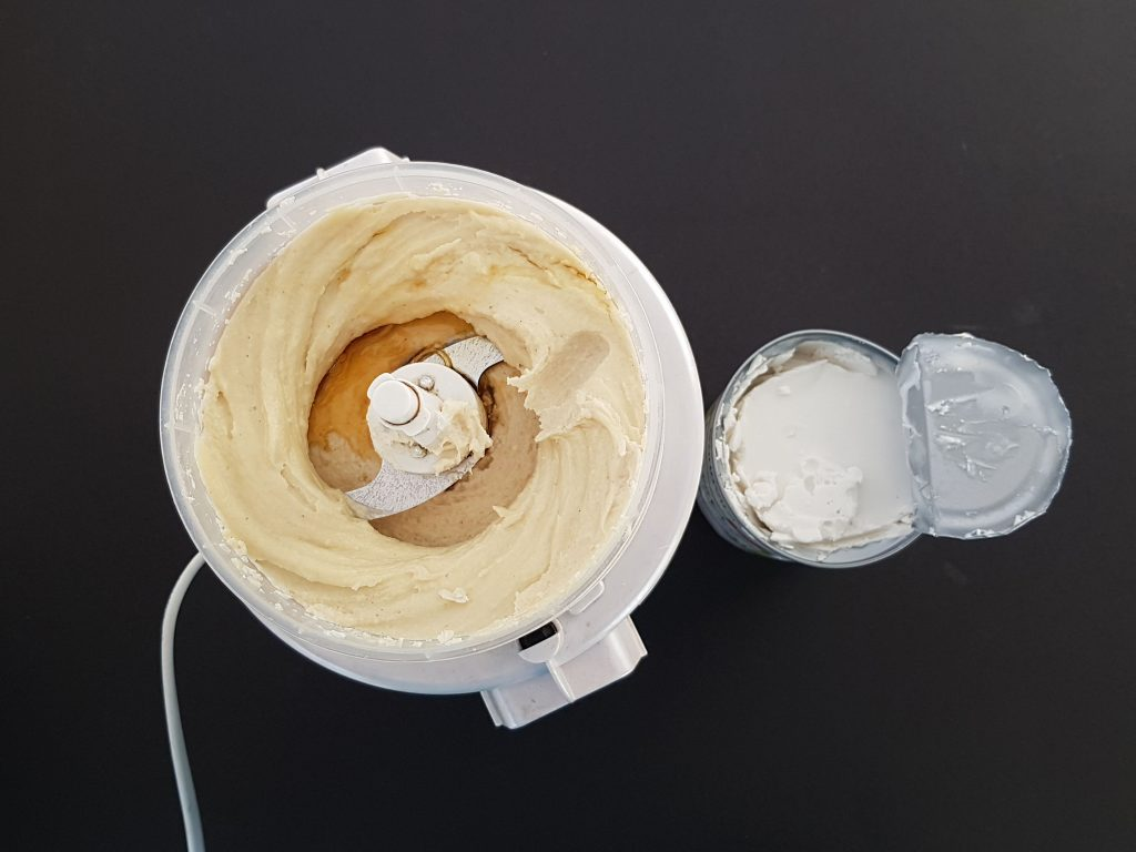 crema de caju si cocos