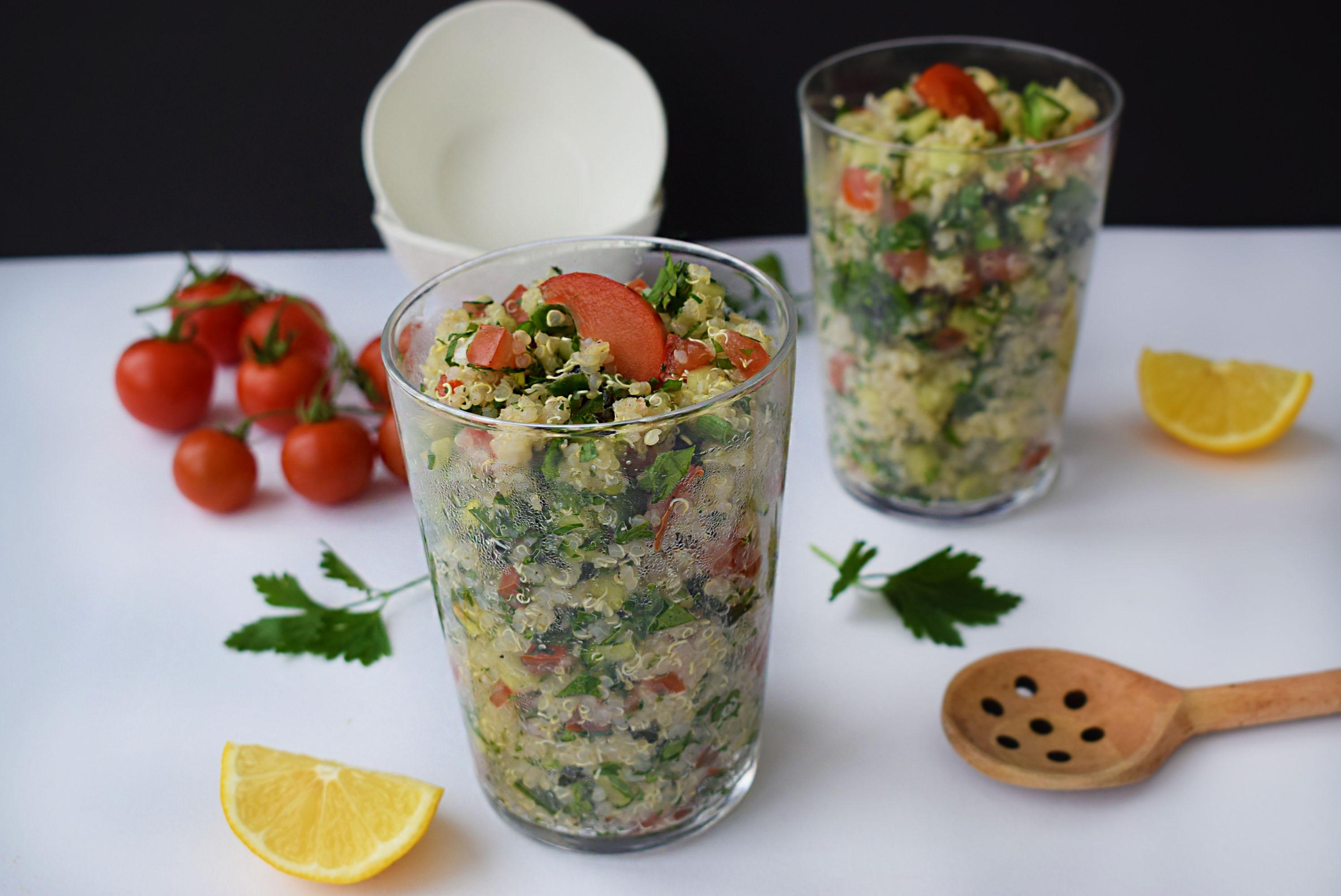 salata tabouleh cu quinoa