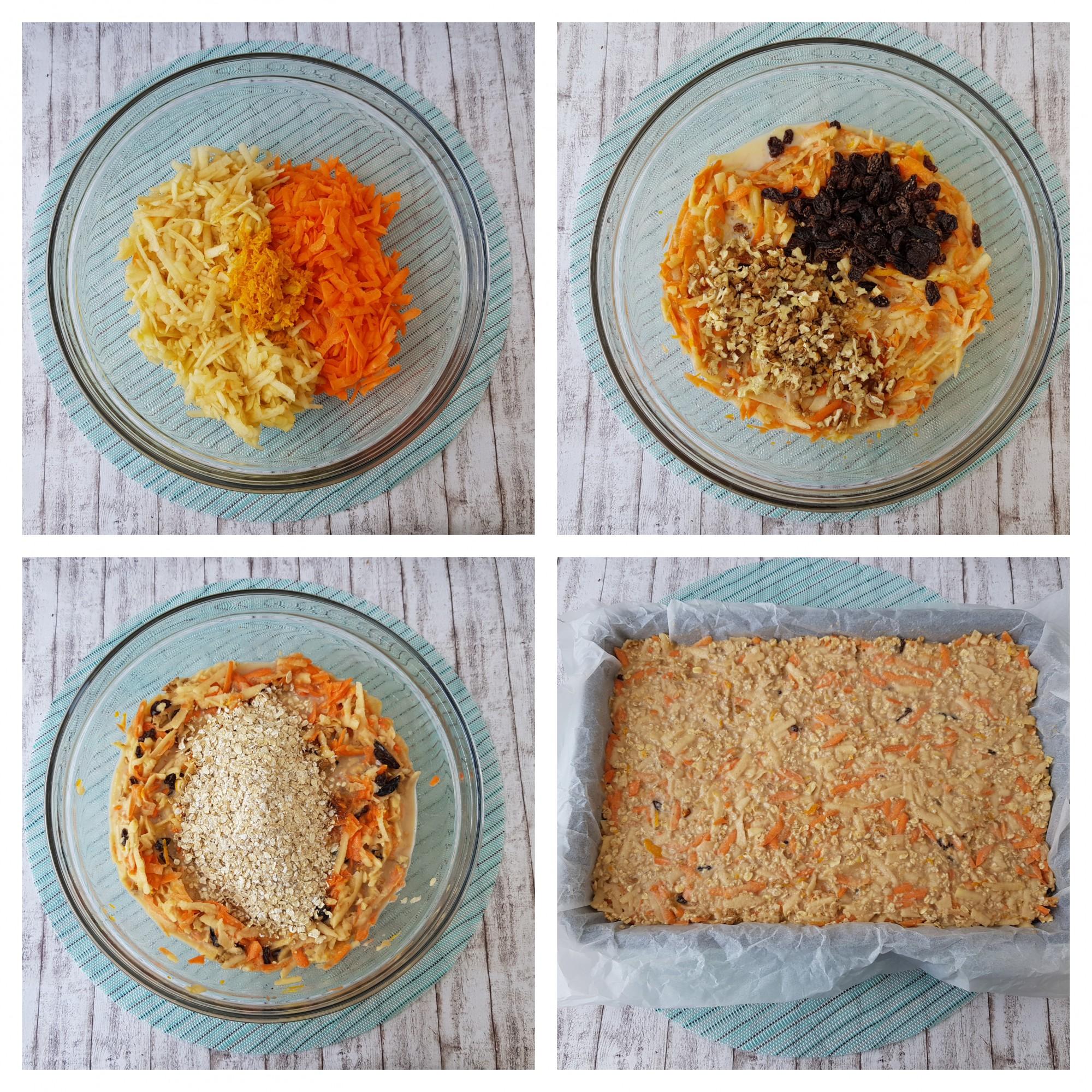 prajitura cu morcovi si fulgi de ovaz - foodieopedia