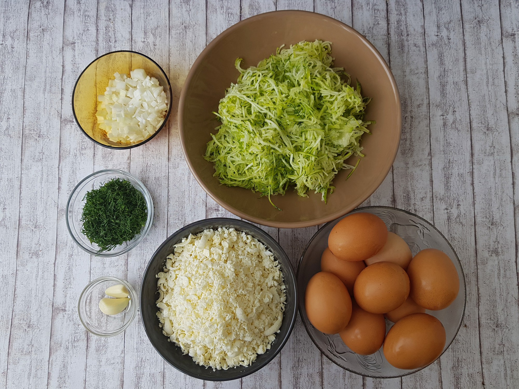foodieopedia- frittata cu dovlecei si urda