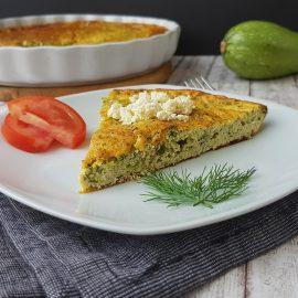 frittata cu dovlecel si urda - foodieopedia