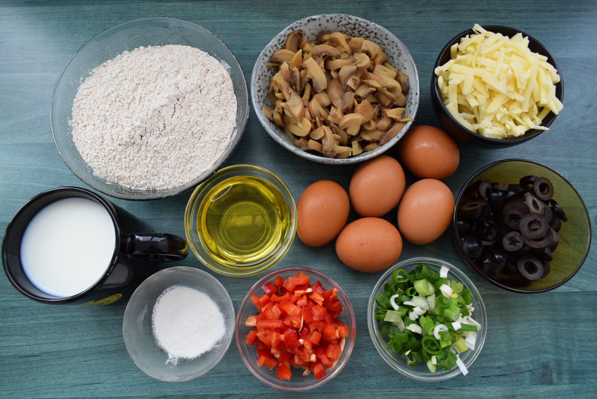 guguluf aperitiv cu legume si cascaval