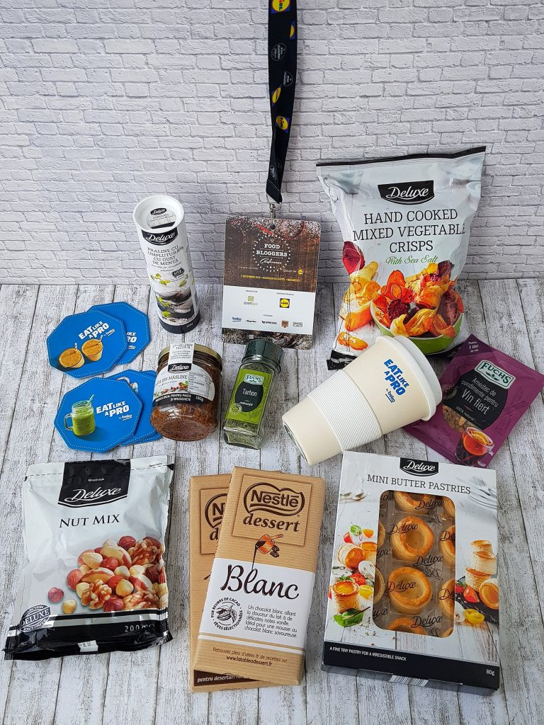 food bloggers conference goodie bag