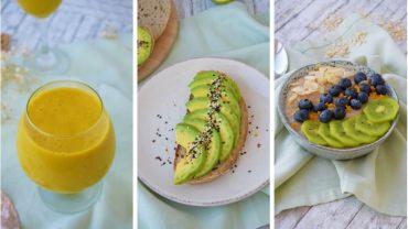 3 idei rapide de mic dejun