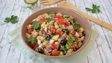 Salata cu quinoa si naut