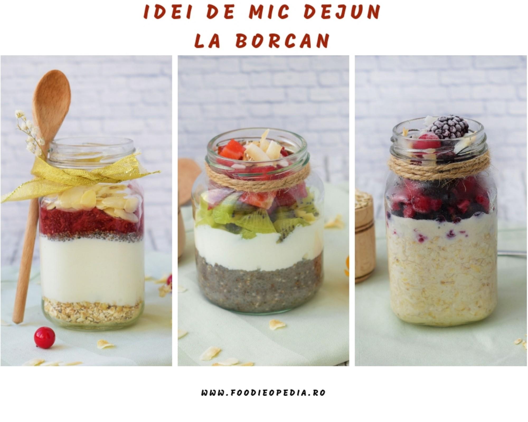 idei de mic dejun la borcan - foodieopedia.ro