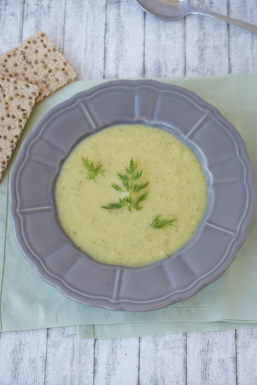 supa crema de dovlecel cu nuci caju - foodieopedia.ro