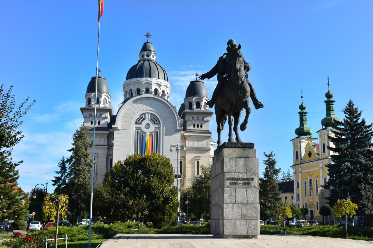 Statuia lui Avram Iancu - Targu Mures
