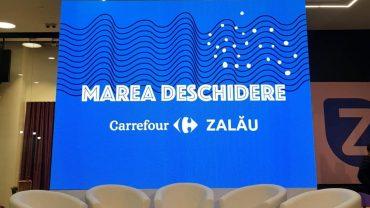 Carrefour Romania a deschis primul hipermarket din Zalau