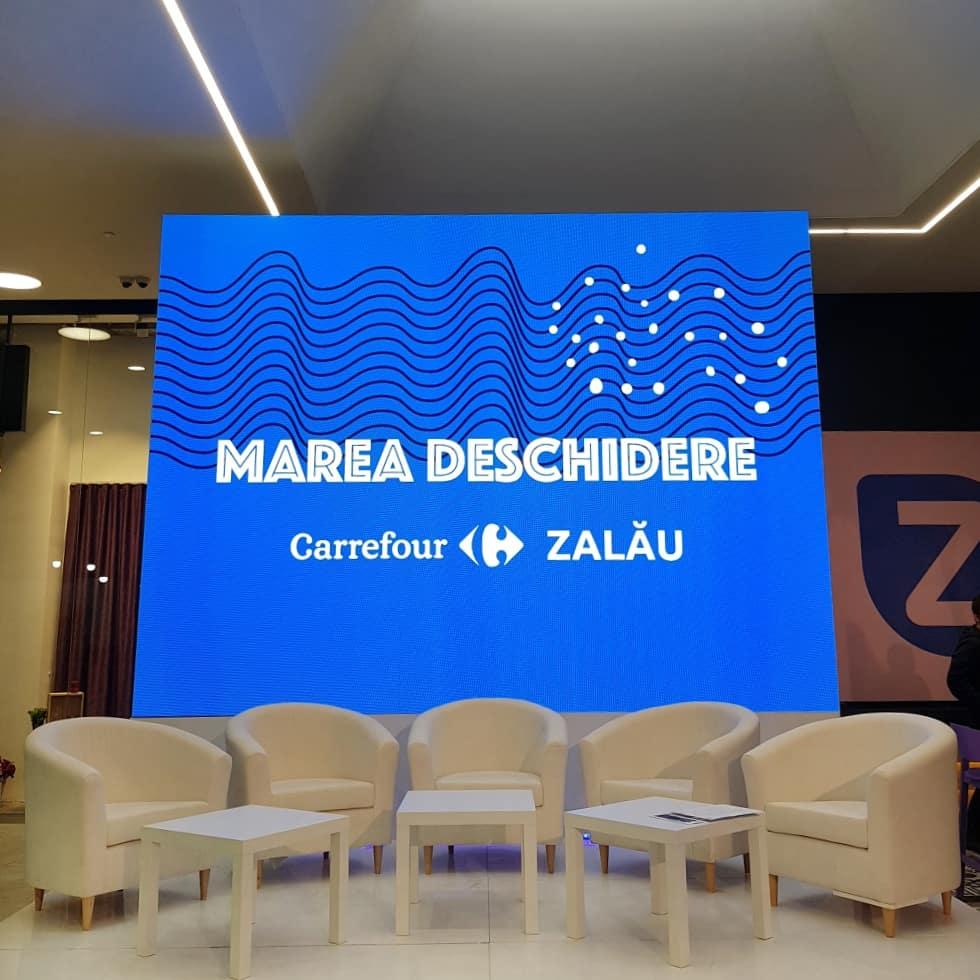 Marea Deschidere hipermarket Carrefour Zalau