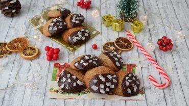 Biscuiti cu ciocolata si cocos