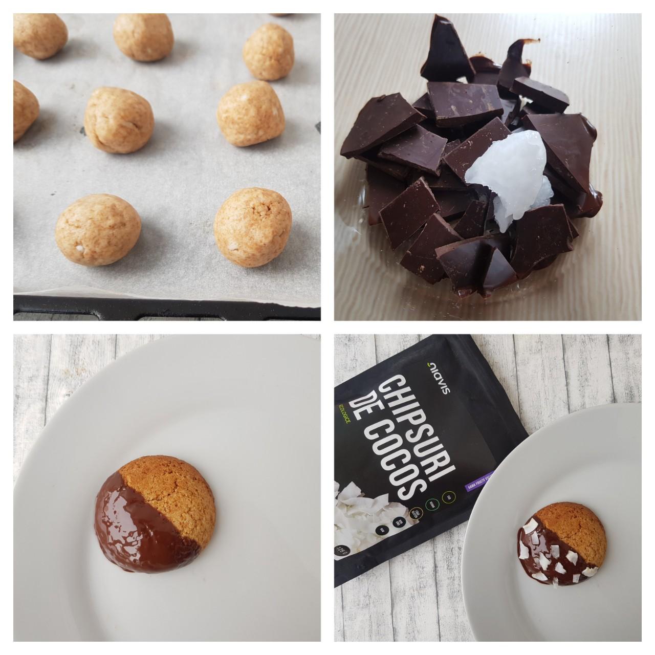 Biscuiti vegani cu ciocolata și cocos niavis - foodieopedia.ro (1)