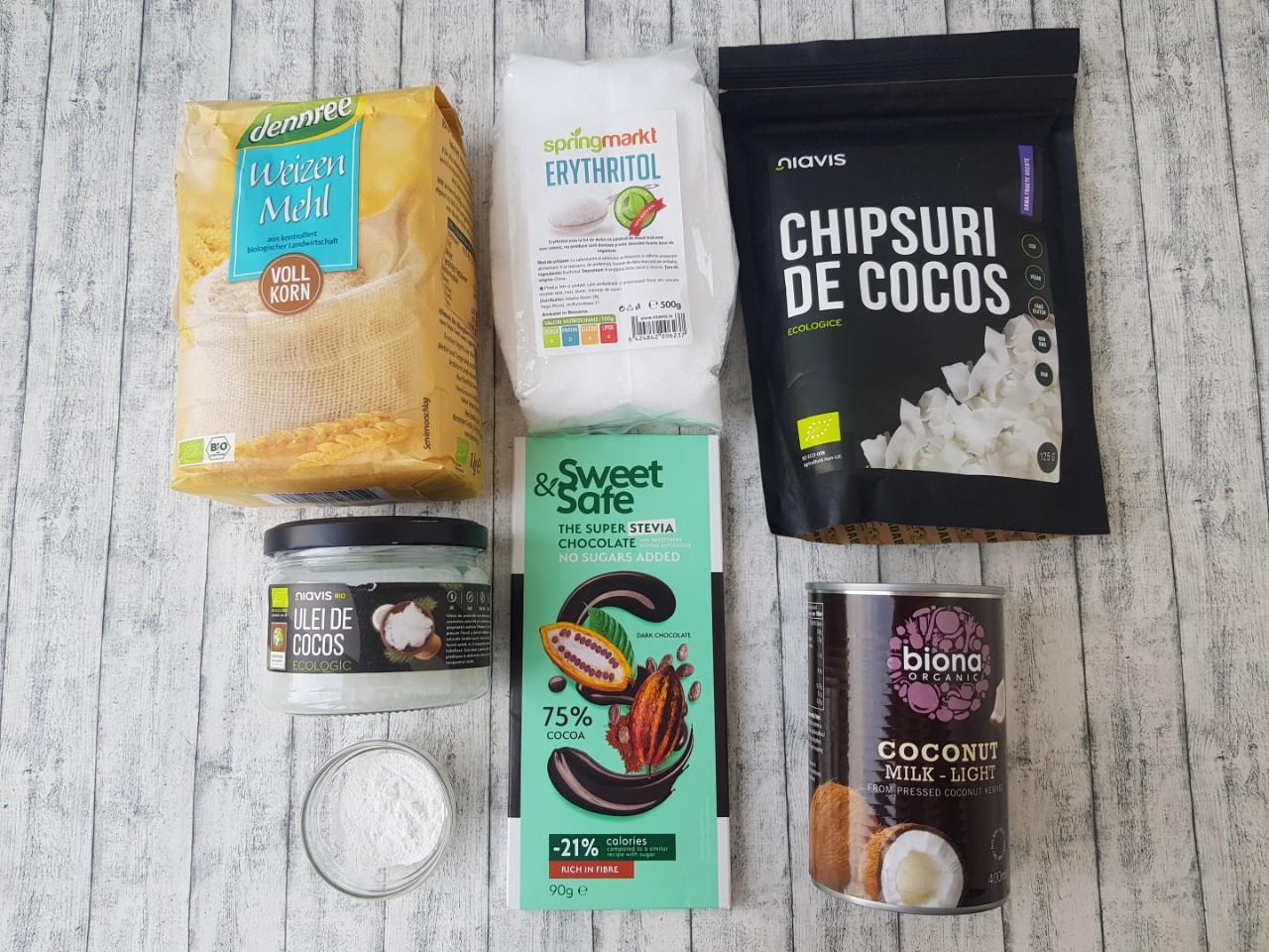 biscuiti cu cocos si ciocolata - foodieopedia
