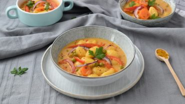 Gnocchi in sos curry