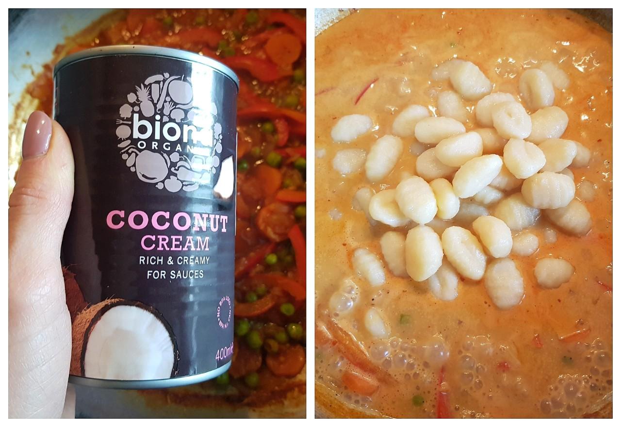 Gnocchi in sos curry - foodieopedia.ro
