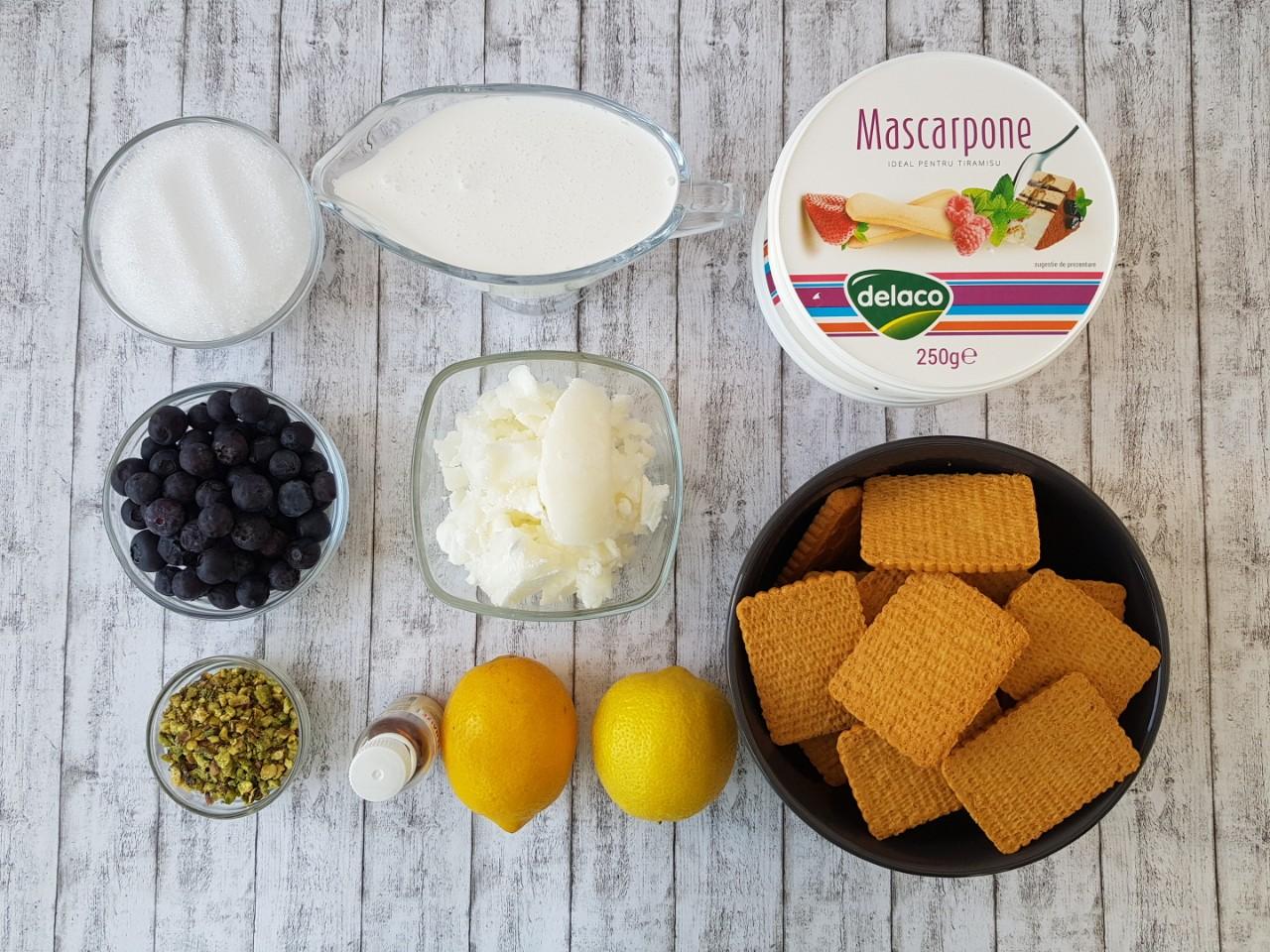 Tarta cu lamaie si mascarpone - foodieopedia.ro